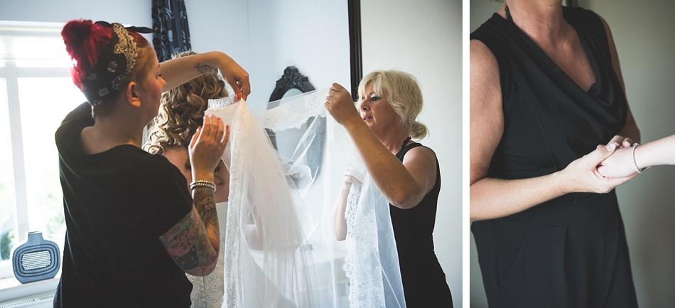 sluier trouwen
