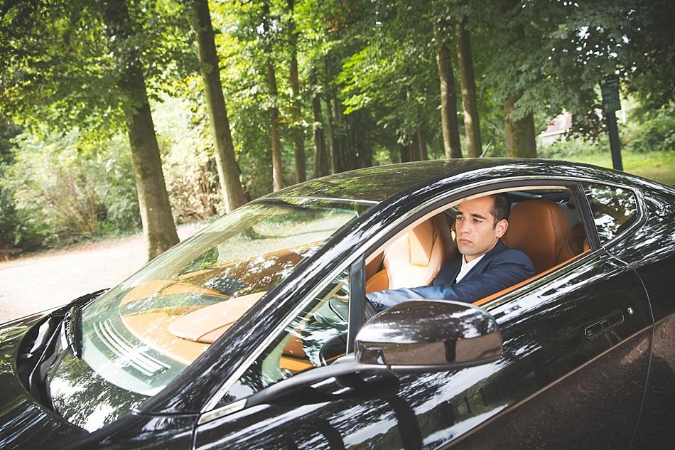 Aston Martin trouwauto