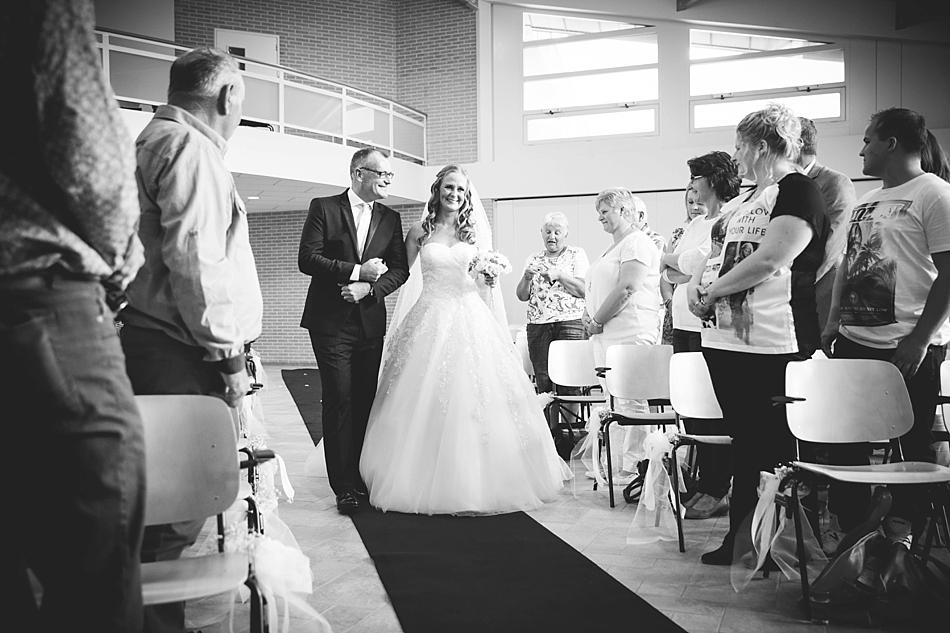 weggeven dochter bruiloft