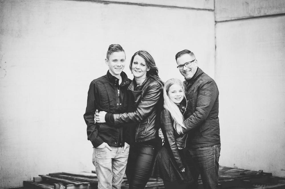 stoere familie fotografie op locatie