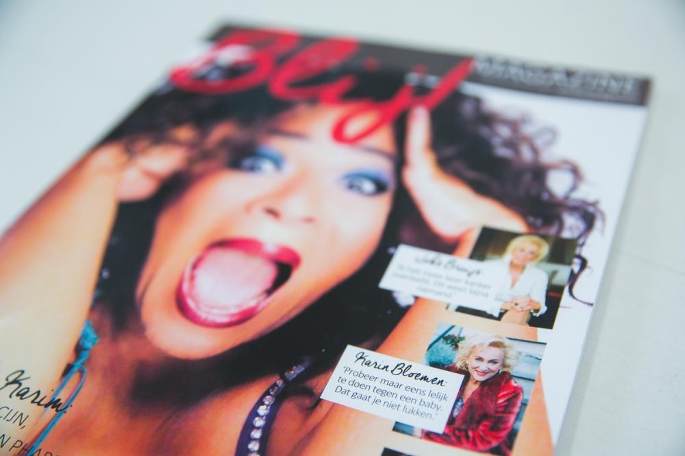 Nurlaila Karim Blij magazine