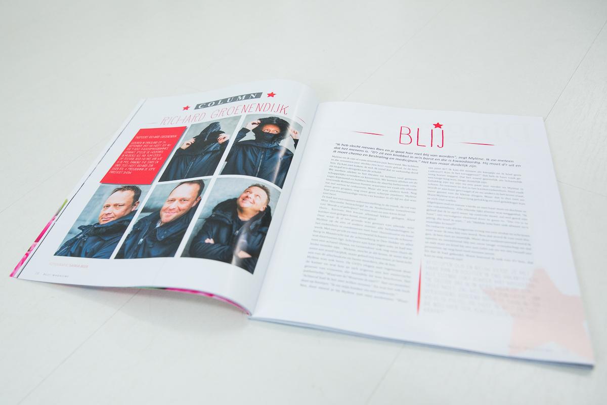 Richard Groenendijk Blij magazine