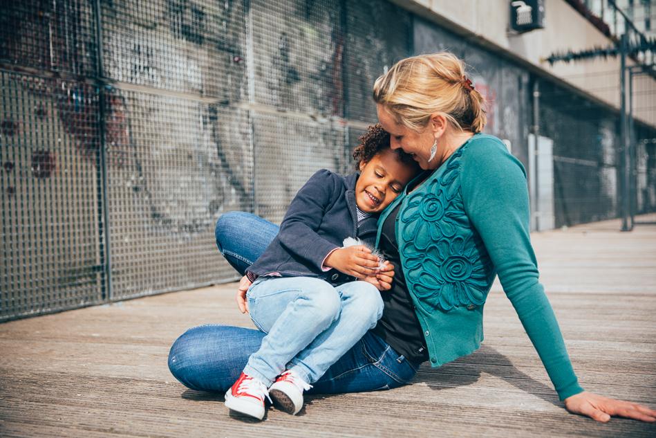 mama en dochter fotoshoot