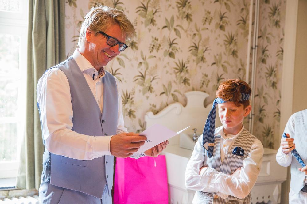 stropdas bruidegom