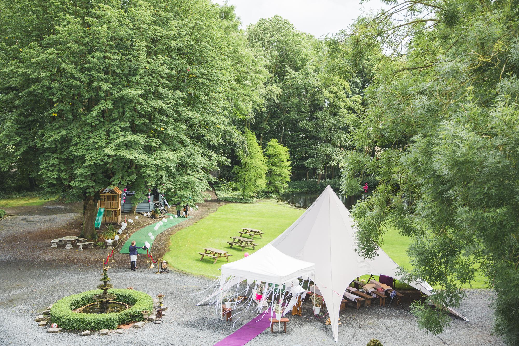 Bruiloft Kasteel Ter Leyen België