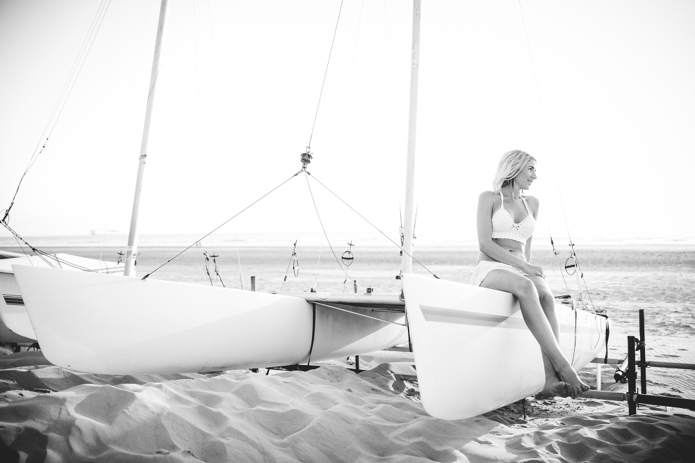 Boudoir fotografie, fotoshoot strand Kijkduin