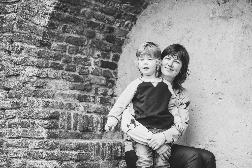 Familie portet, lifestyle fotograaf Harderwijk Vischmarkt