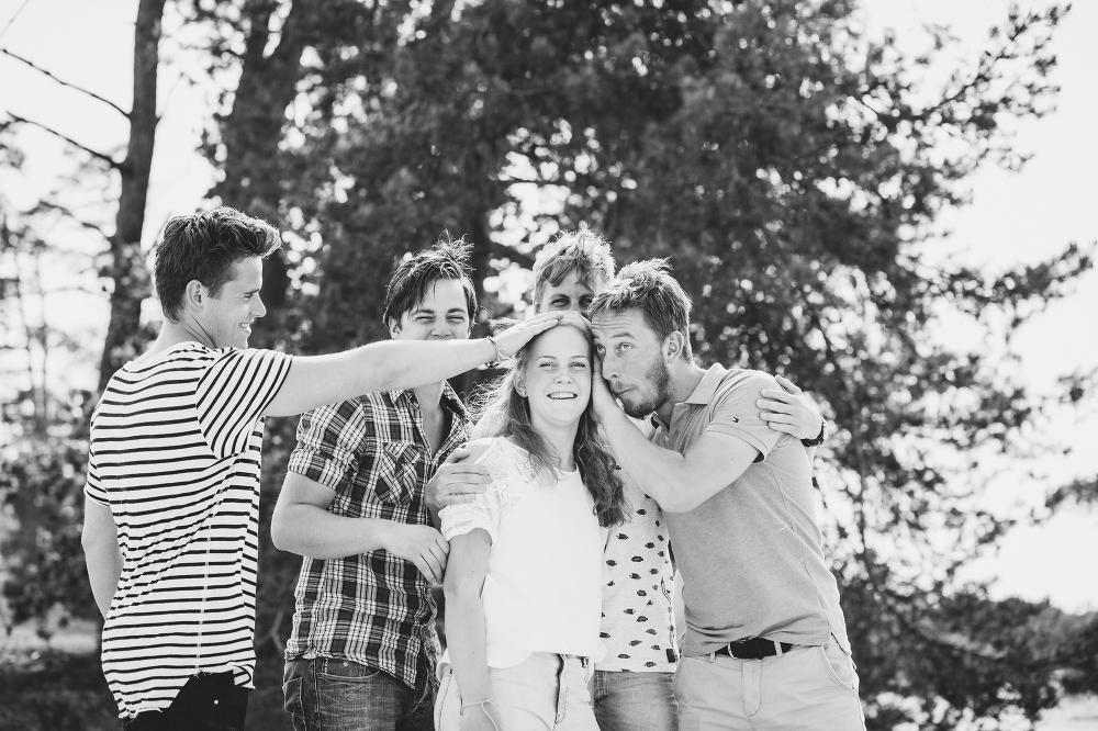 Ongedwongen pure familie fotografie Soesterduinen