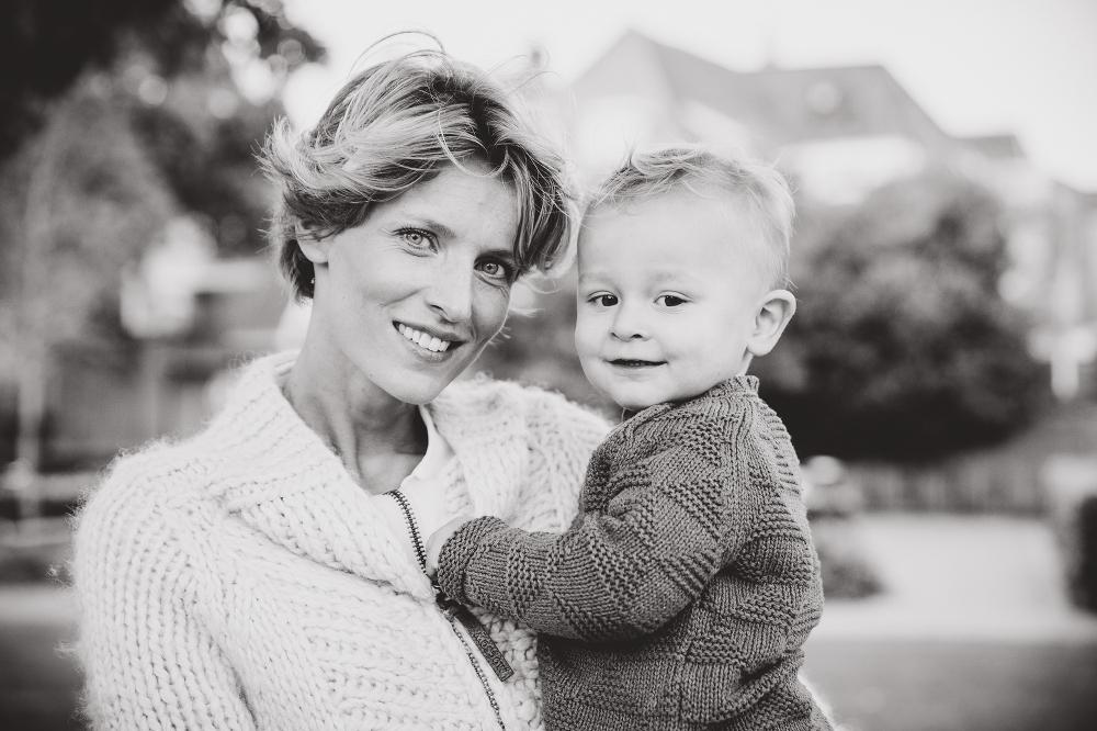 Moeder zoon portret, fotograaf Harderwijk