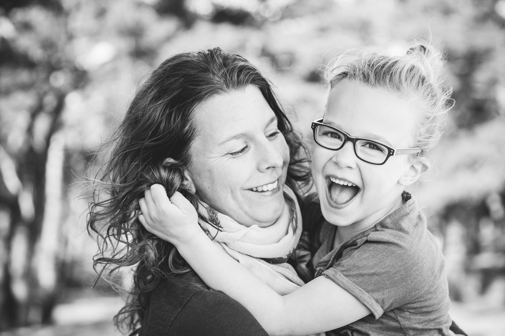 Zandverstuiving fotoshoot family