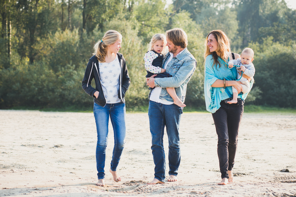 Lifestyle fotoshoot op strand