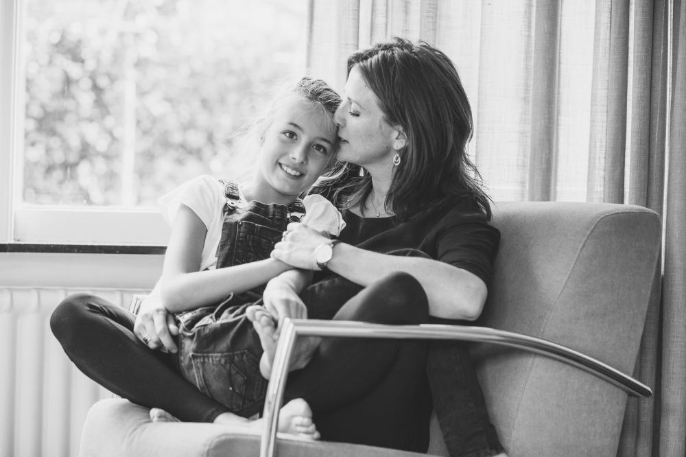 Moeder dochter fotoshoot fotograaf Bussum
