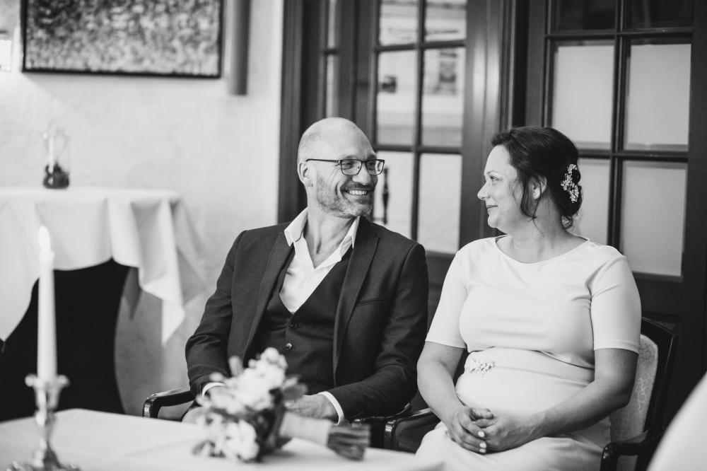pure, stoere trouwfotografie