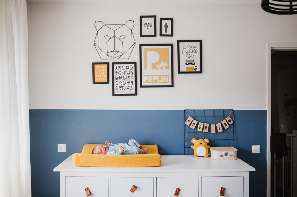 newborn pure fotoshoot op locatie