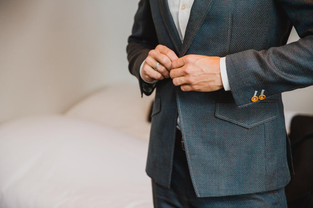 Suits at sea trouwpak maatpak
