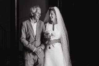 weggeven bruid papa