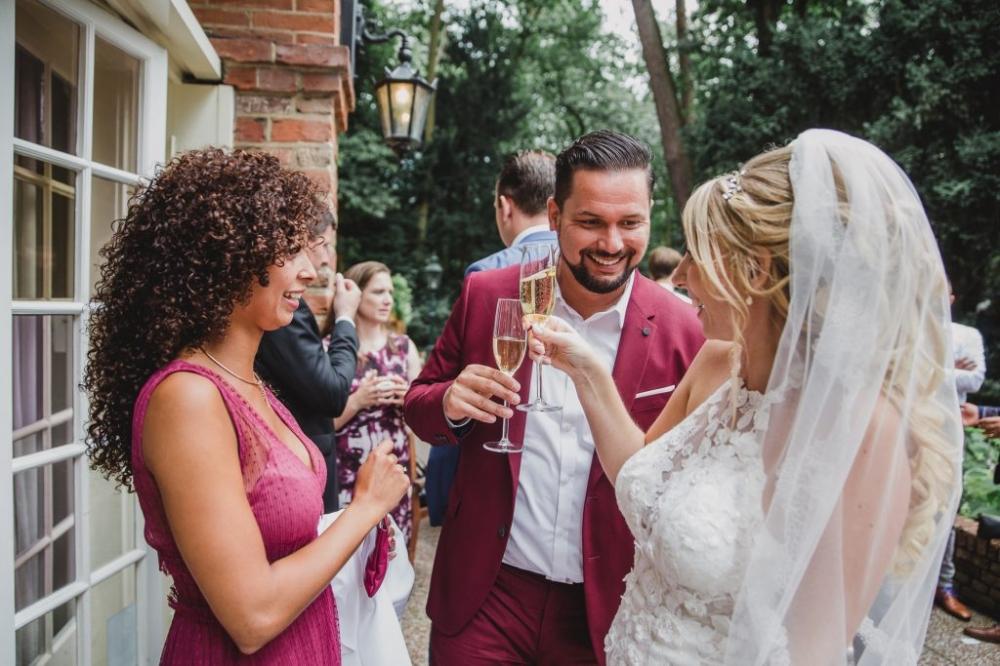 Bruiloft trouwen Kasteel Kerckebosch