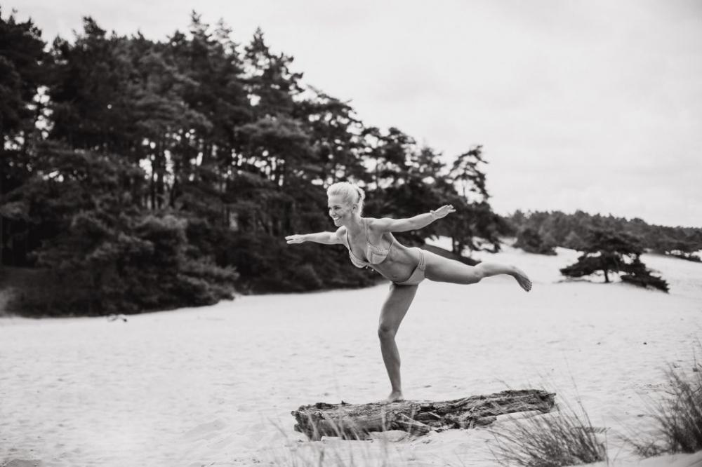 bikini fotoshoot zandverstuiving Harderwijk